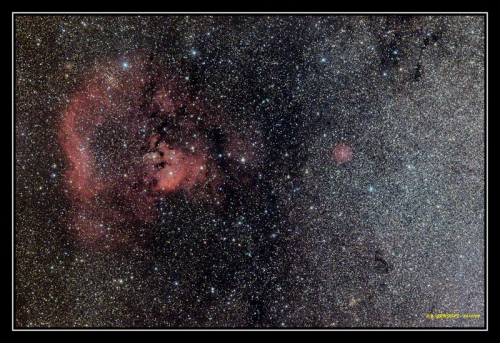 Sharpless-170 et Sharpless-171