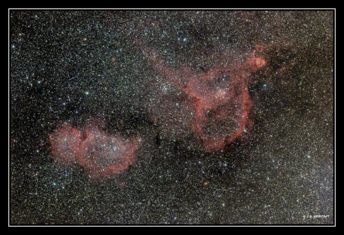 Le coeur et l'ame : IC1805 / IC1848