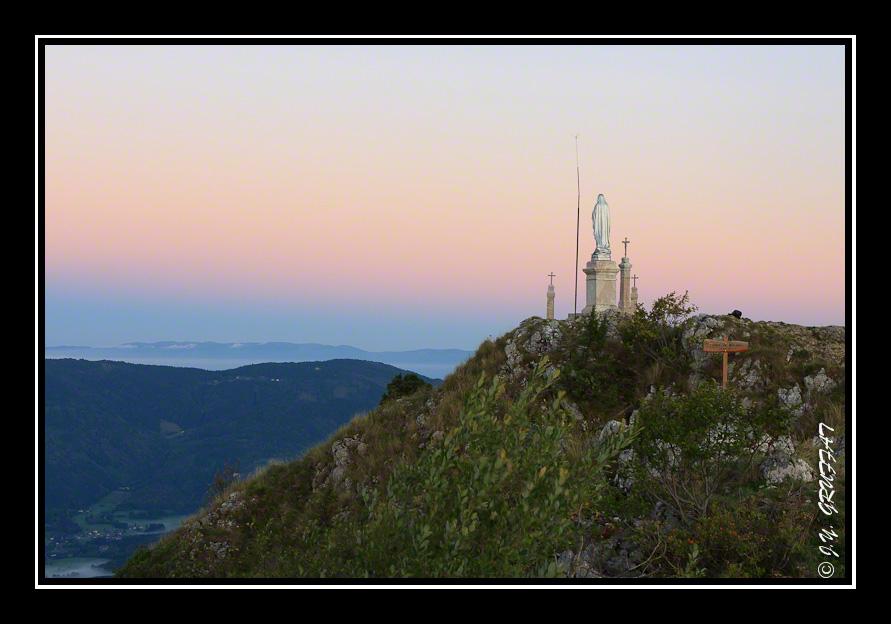 Pointe de Miribel et la ceinture du Vénus