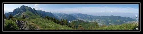 Du Mont Billiat au bassin lémanique