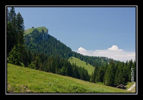 Le Mont Baron vu depuis le Pré Richards